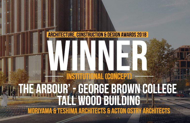 The Arbour' - George Brown College Tall Wood Building