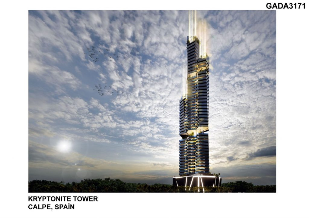 KRYPTONITE TOWER by DNA BARCELONA ARCHITECTS -SHEET3