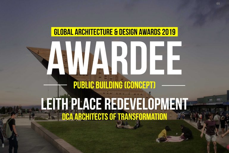 Leith Place Redevelopment | DCA Architects of Transformation