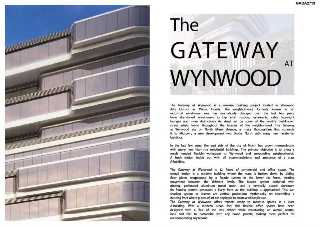 Wynwood Gateway by Kobi Karp Architecture and Interior Design Inc - Sheet1