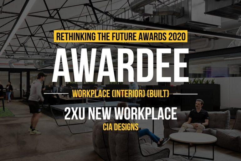 2XU NEW WORKPLACE | CIA DESIGNS