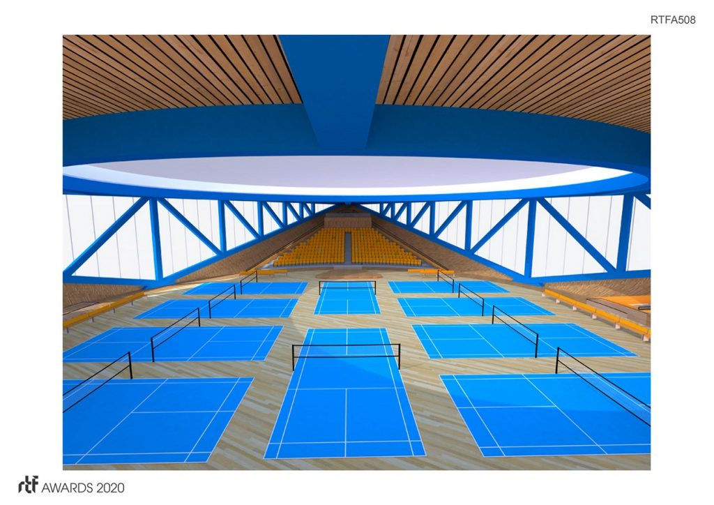 Dalseong Citizen's Gymnasium | Wall Corporation - Sheet2