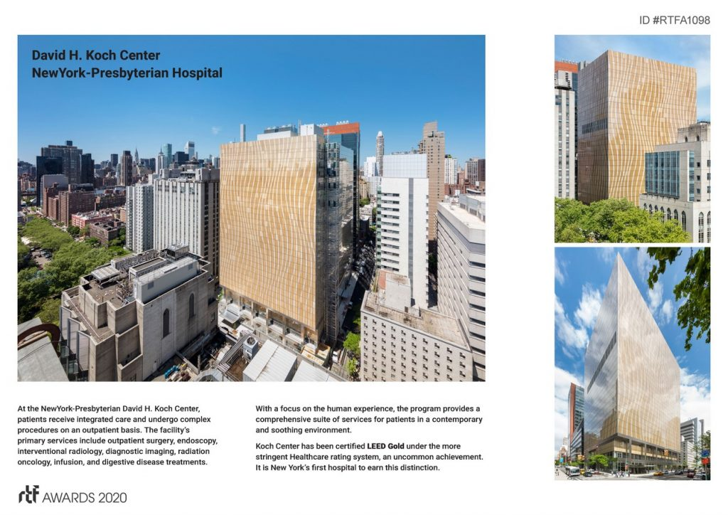 David H. Koch Center, NewYork-Presbyterian Hospital   Pei Cobb Freed & Partners Architects LLP - Sheet2