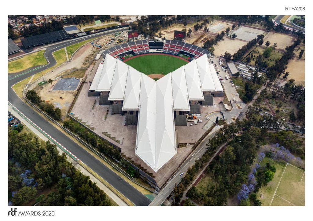 Diablos Rojos Baseball Stadium   FGP Atelier and Taller ADG - Sheet3