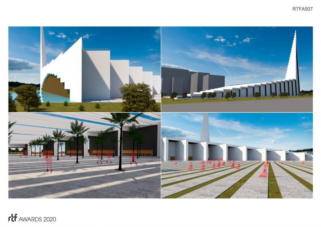 Dubai Iconic Mosque | Wall Corporation - Sheet3