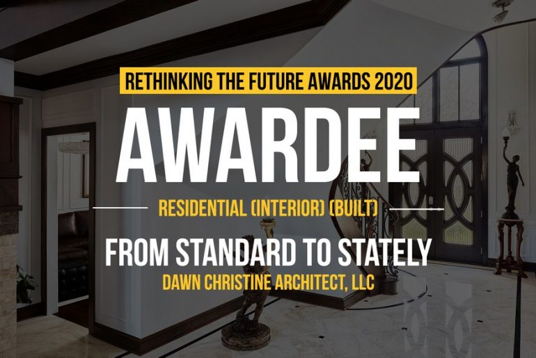 From Standard to Stately | Dawn Christine Architect, LLC