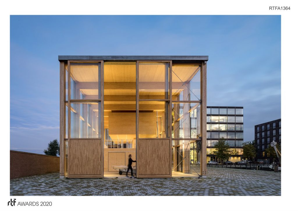Harbour Building for Sailing Club, Amsterdam | Margulis Moormann Architects - Sheet4