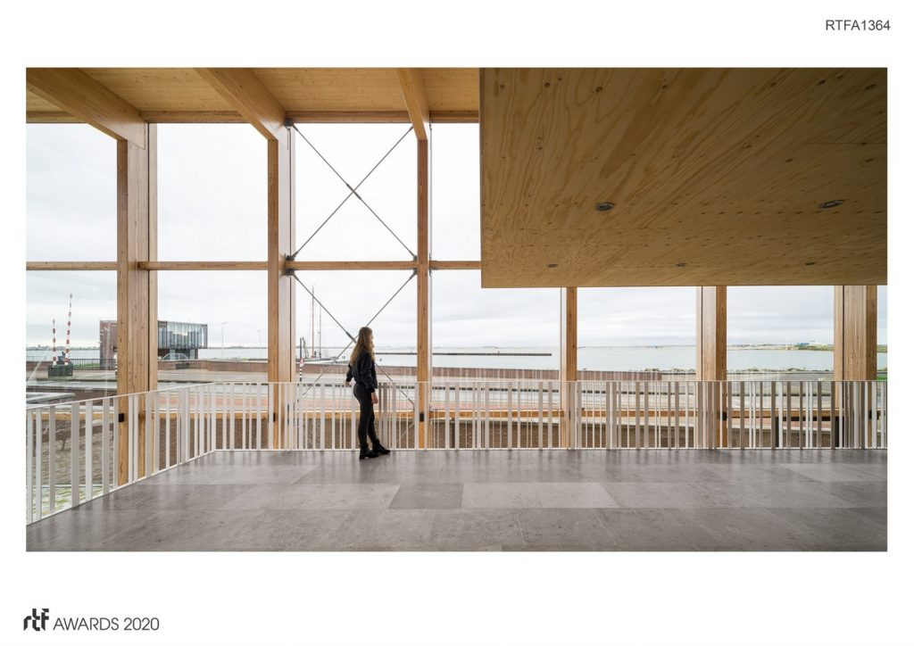 Harbour Building for Sailing Club, Amsterdam | Margulis Moormann Architects - Sheet1