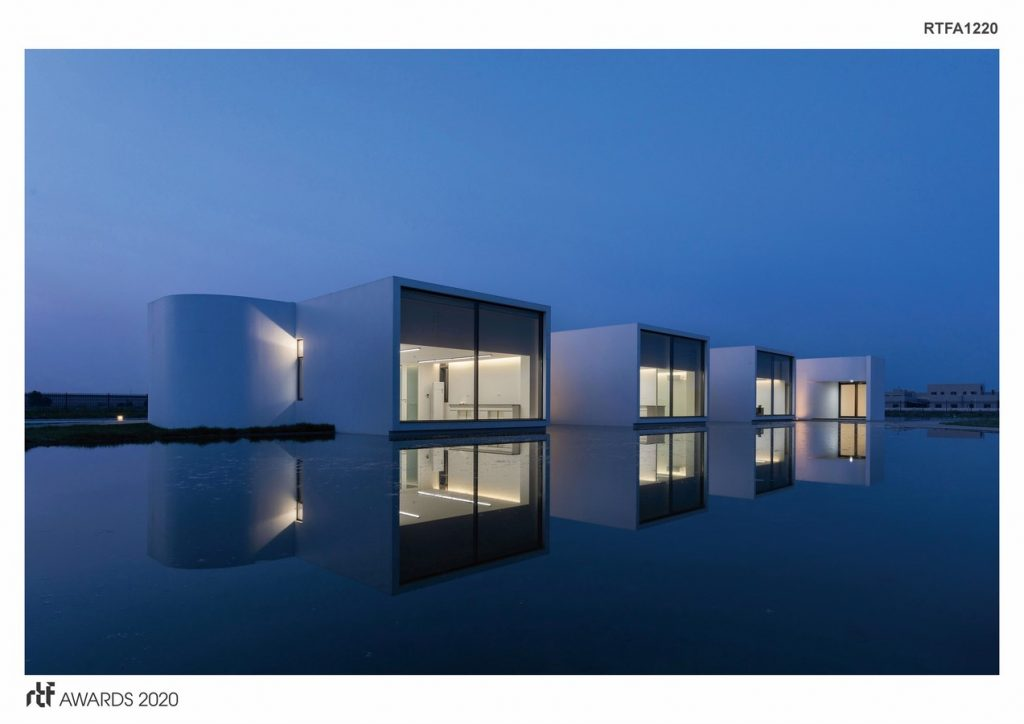 Laboratory for Shihlien Biotech Salt Plant | WZWX Architecture Group - Sheet1