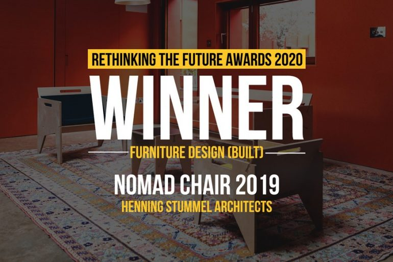 Nomad Chair 2019 | Henning Stummel Architects