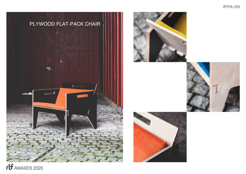 Nomad Chair 2019 | Henning Stummel Architects - Sheet2