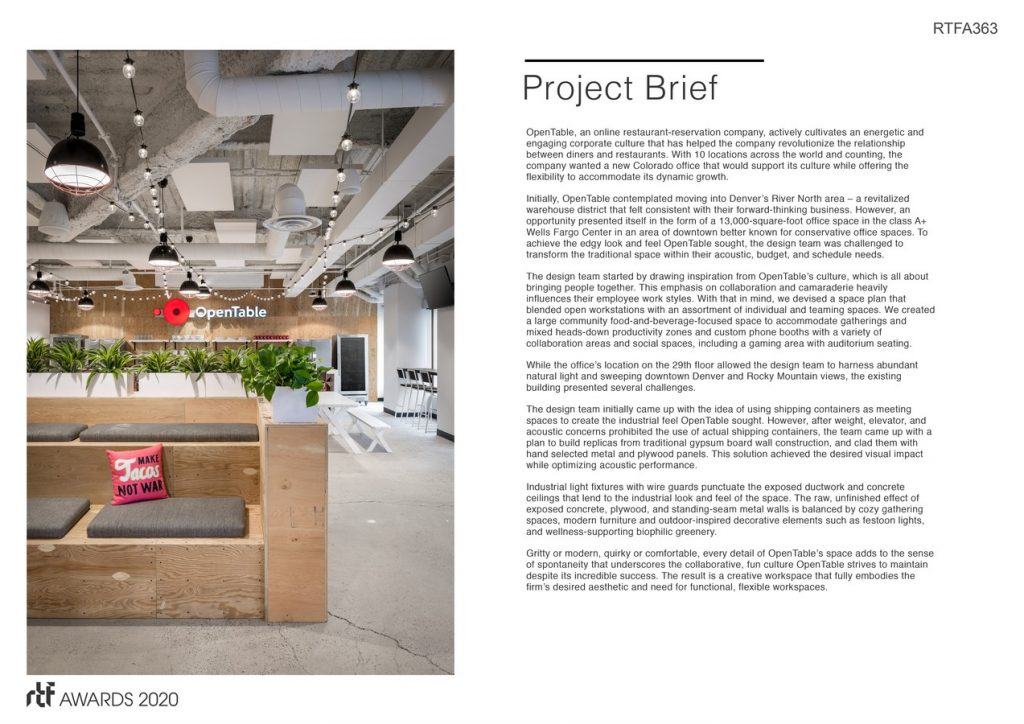OpenTable | Venture Architecture - Sheet2