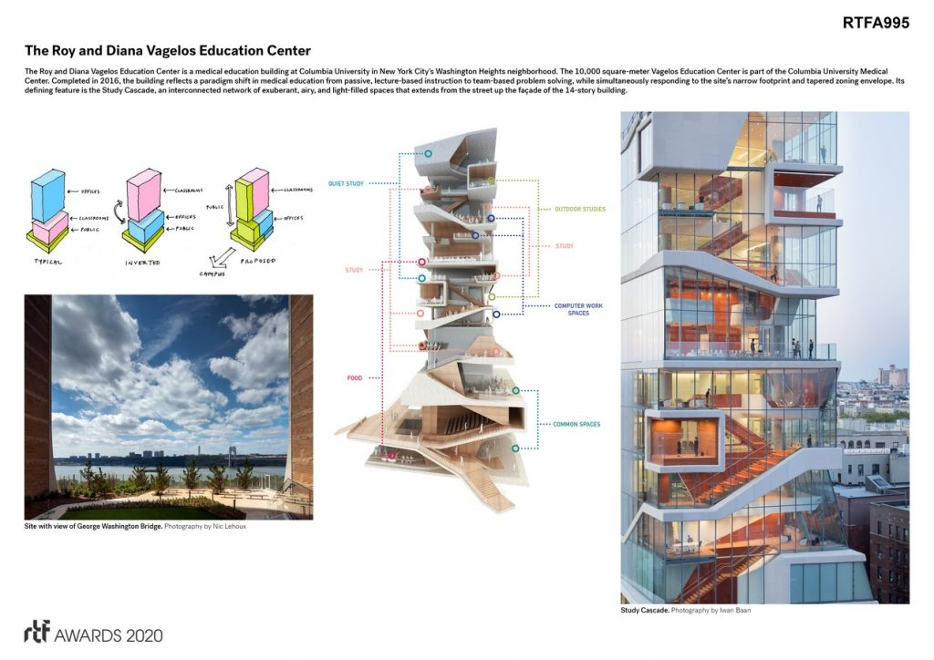Roy and Diana Vagelos Education Center | Diller Scofidio + Renfro - Sheet2