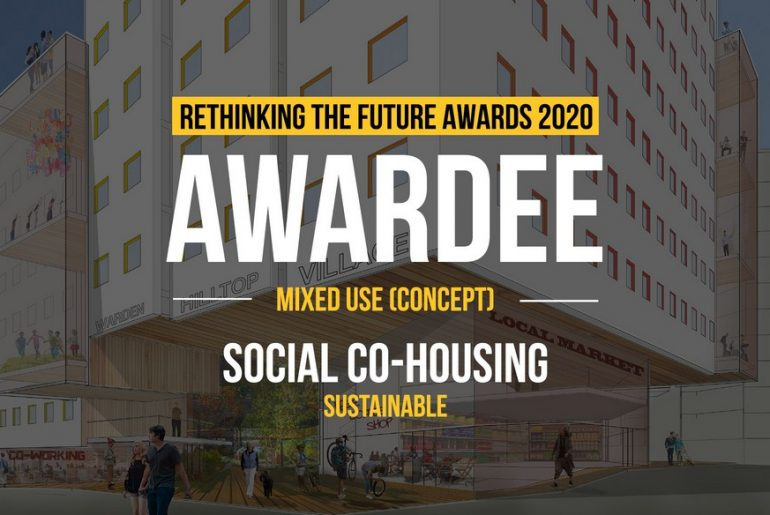 Social Co-housing | Sustainable (A/O Paul Dowsett Architecture Ltd.)