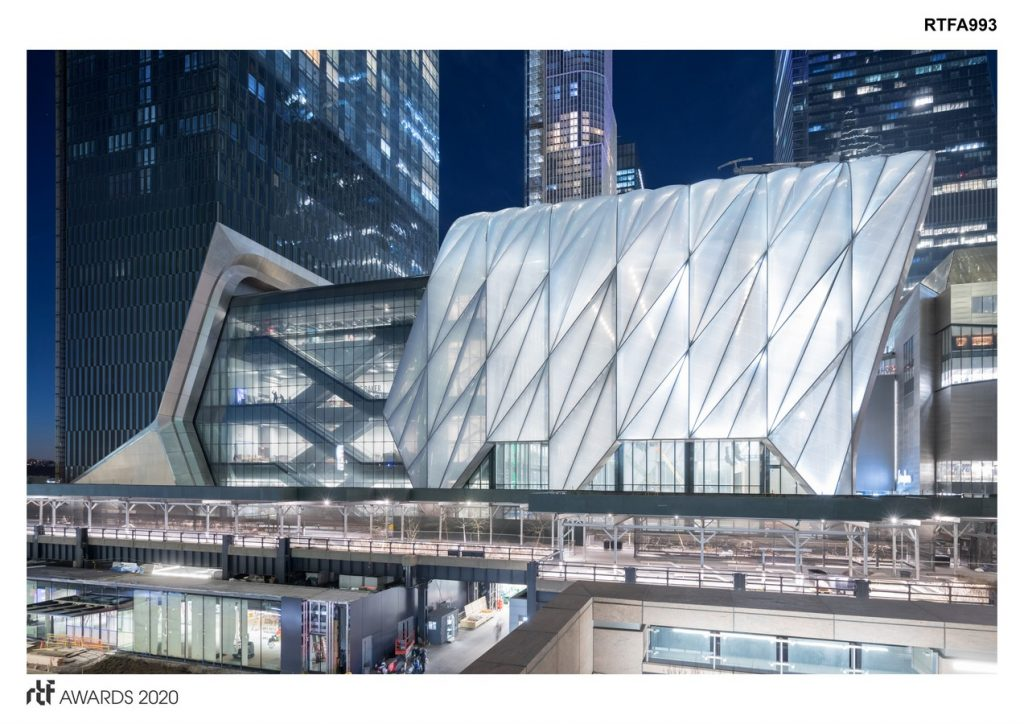 The Shed | Diller Scofidio + Renfro - Sheet1