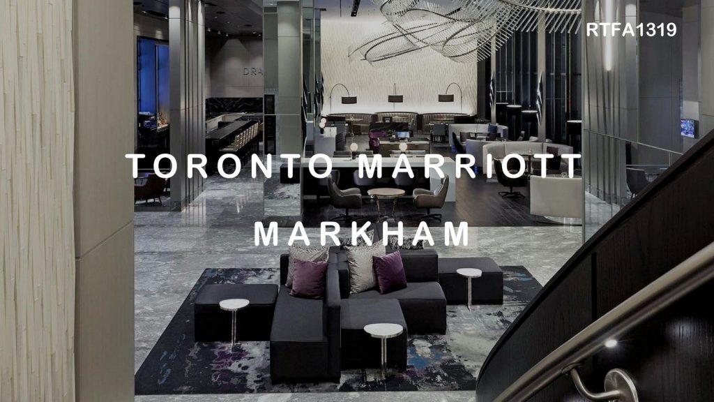 Toronto Marriott Markham   II BY IV DESIGN - Sheet1
