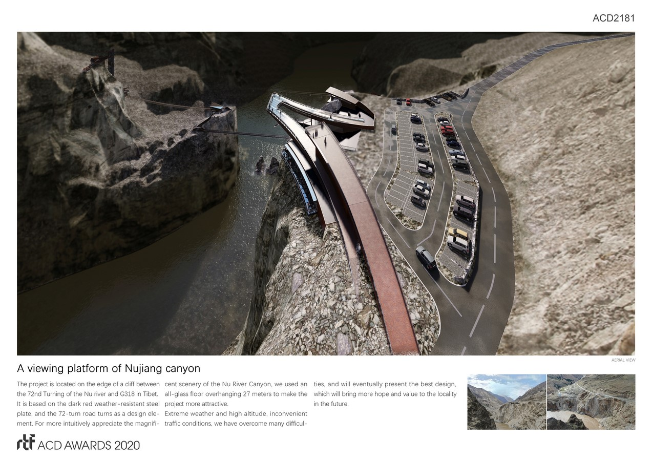 A viewing platform of Nujiang canyon By Arch-Hermit - Sheet2