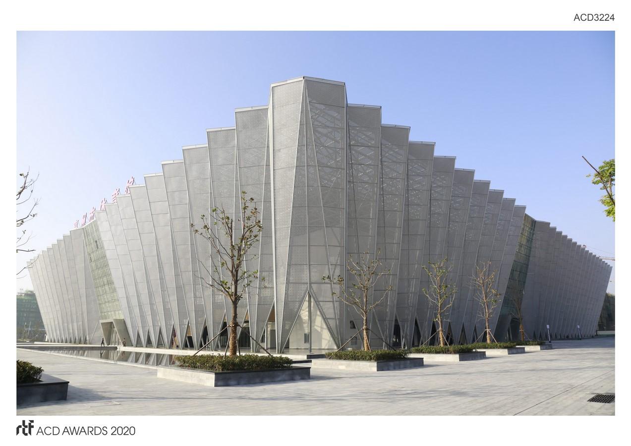 Bozhou Gymnasium By Yuan Ye Architects/ CSCEC - Sheet1
