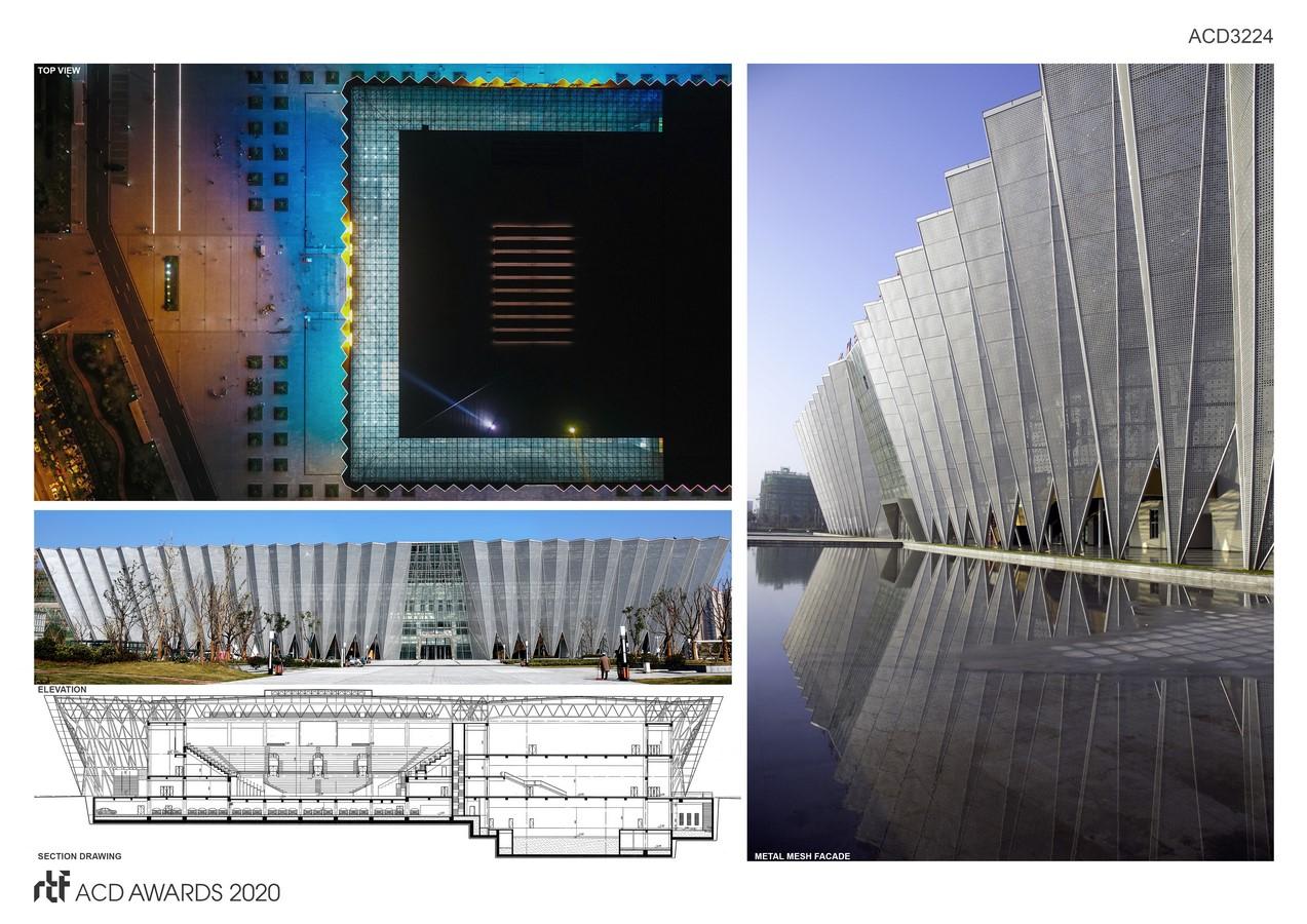 Bozhou Gymnasium By Yuan Ye Architects/ CSCEC - Sheet3