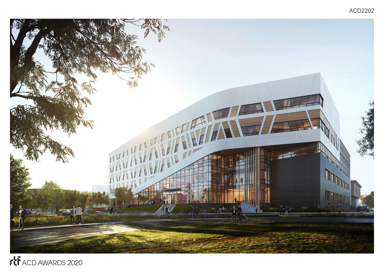 Centennial College A-Block Expansion Building By DIALOG - Sheet1