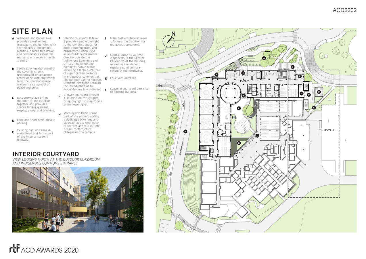 Centennial College A-Block Expansion Building By DIALOG - Sheet3
