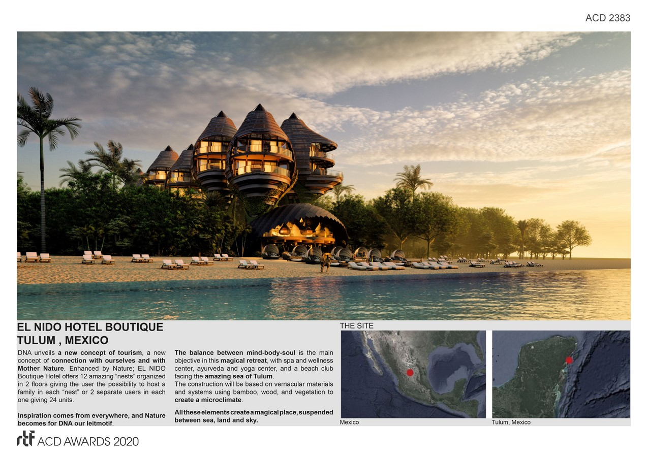 EL NIDO BOUTIQUE HOTEL, TULUM, MEXICO By DNA Barcelona Architects - Sheet2