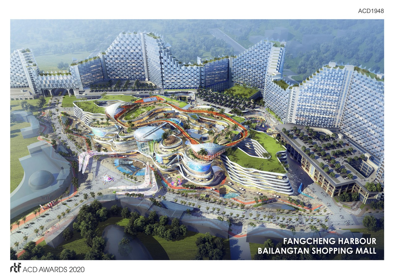 Fangcheng Harbour Bailangtan Shopping Mall By L&P Architects - Sheet1