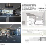 Marina di Cerveteri Restyling project Rome 2020 By AMAART Architects - Sheet3