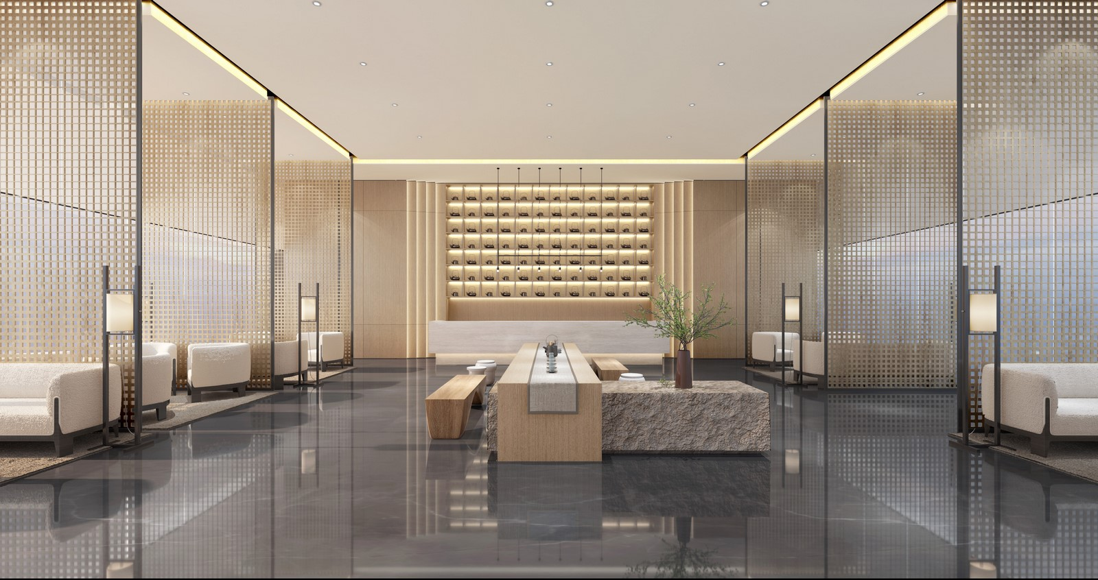 POLY·ZHOUSHAN SALES OFFICE By Harmony World Consultant & Design - Sheet3