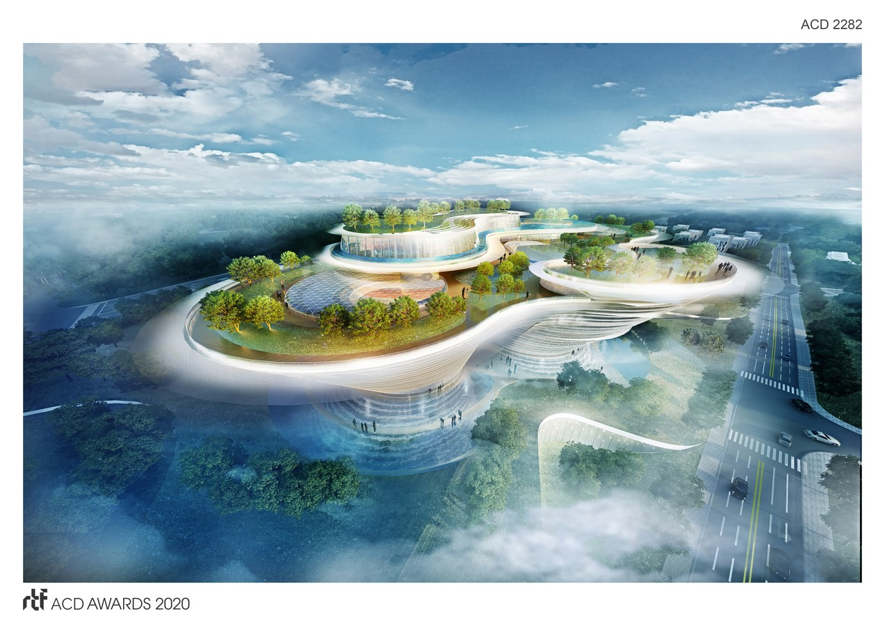 Qingdao Hotel Design Concept By DP Architects - sheet1