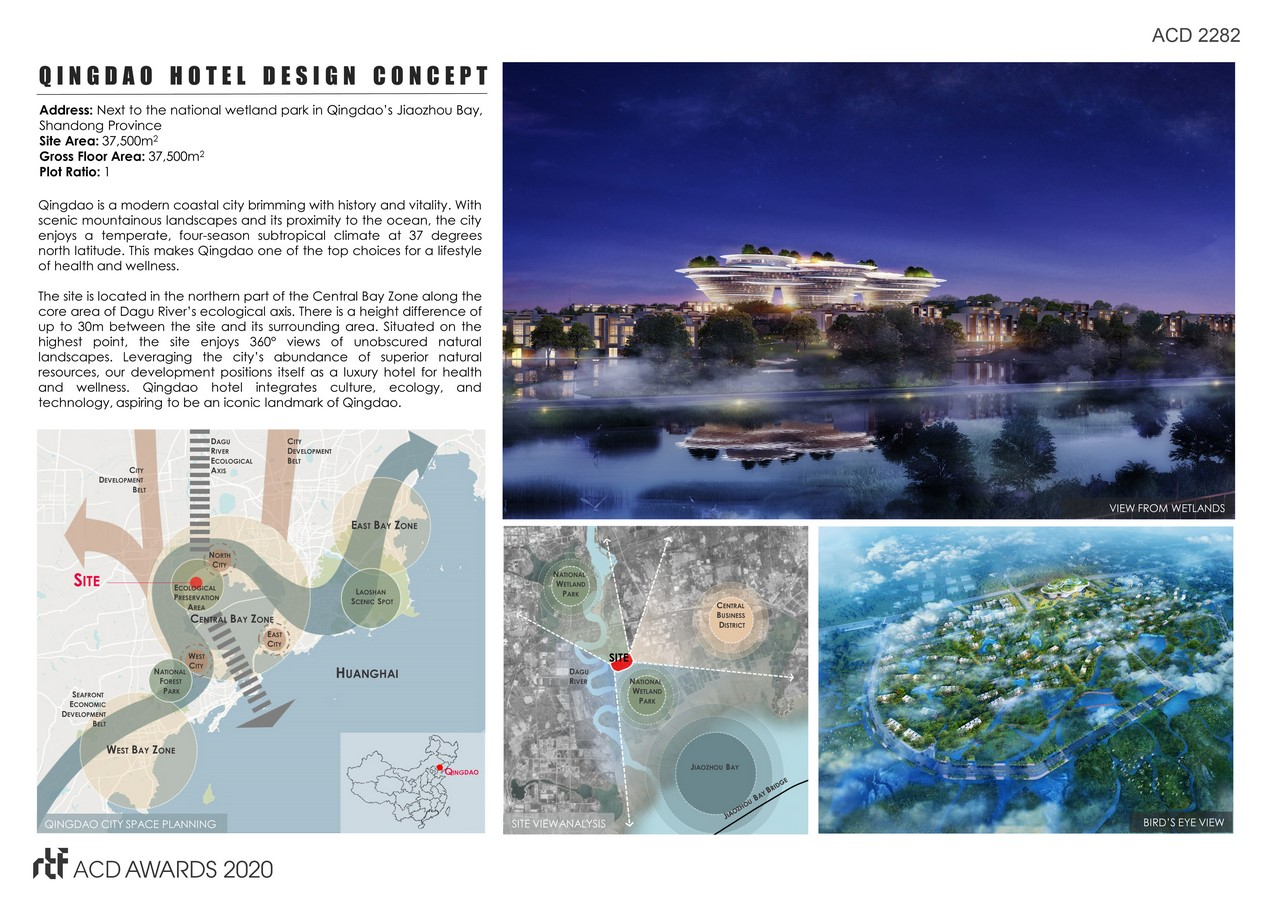 Qingdao Hotel Design Concept By DP Architects - sheet2