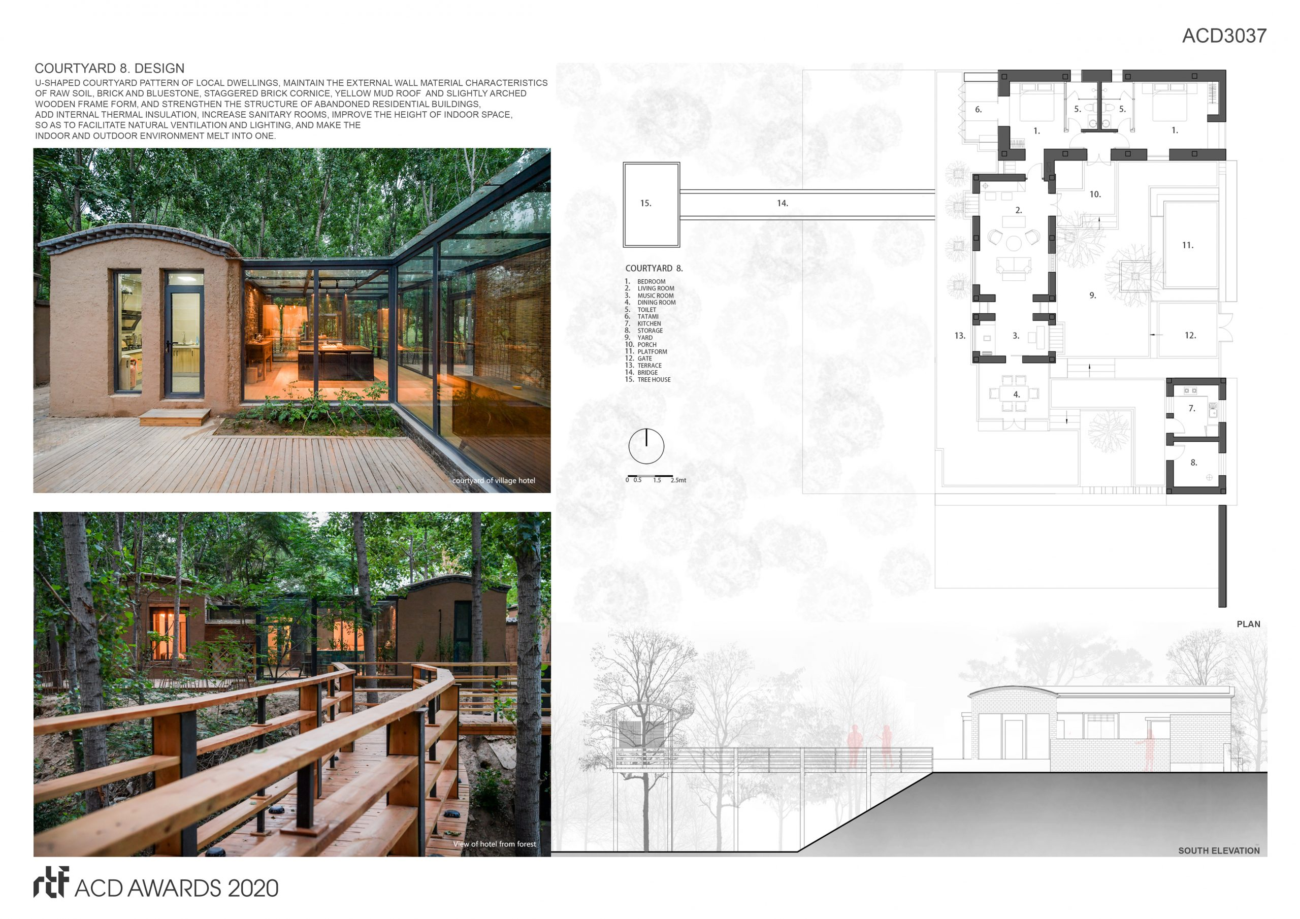 Reconstruction of Jiang Village - Rebirth of an abandoned village on the banks of the Yellow River By Yuan Ye Architects - Sheet4