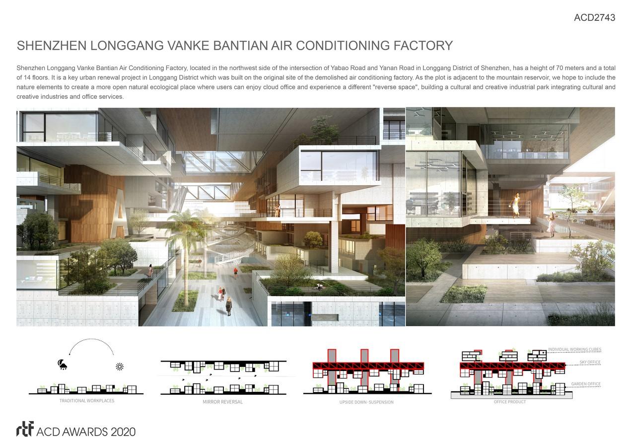 Shenzhen Longgang Vanke Bantian Air Conditioning Factory By Shenzhen Yijing Architectural design Co - Sheet2