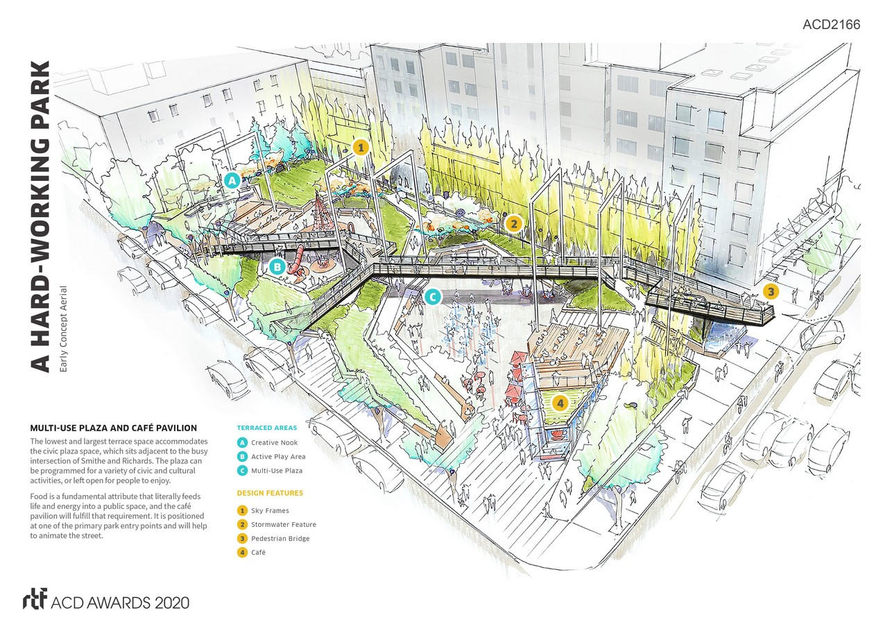 Smithe & Richards Urban Park By DIALOG - Sheet3