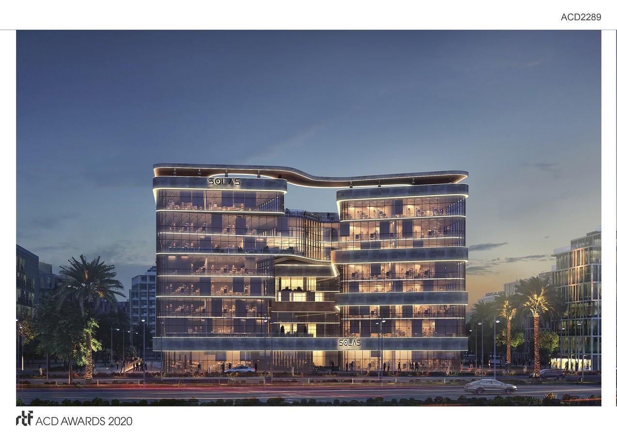 "Solas Office Building By Distance Studio Consultants ""DSC"" - Sheet2"