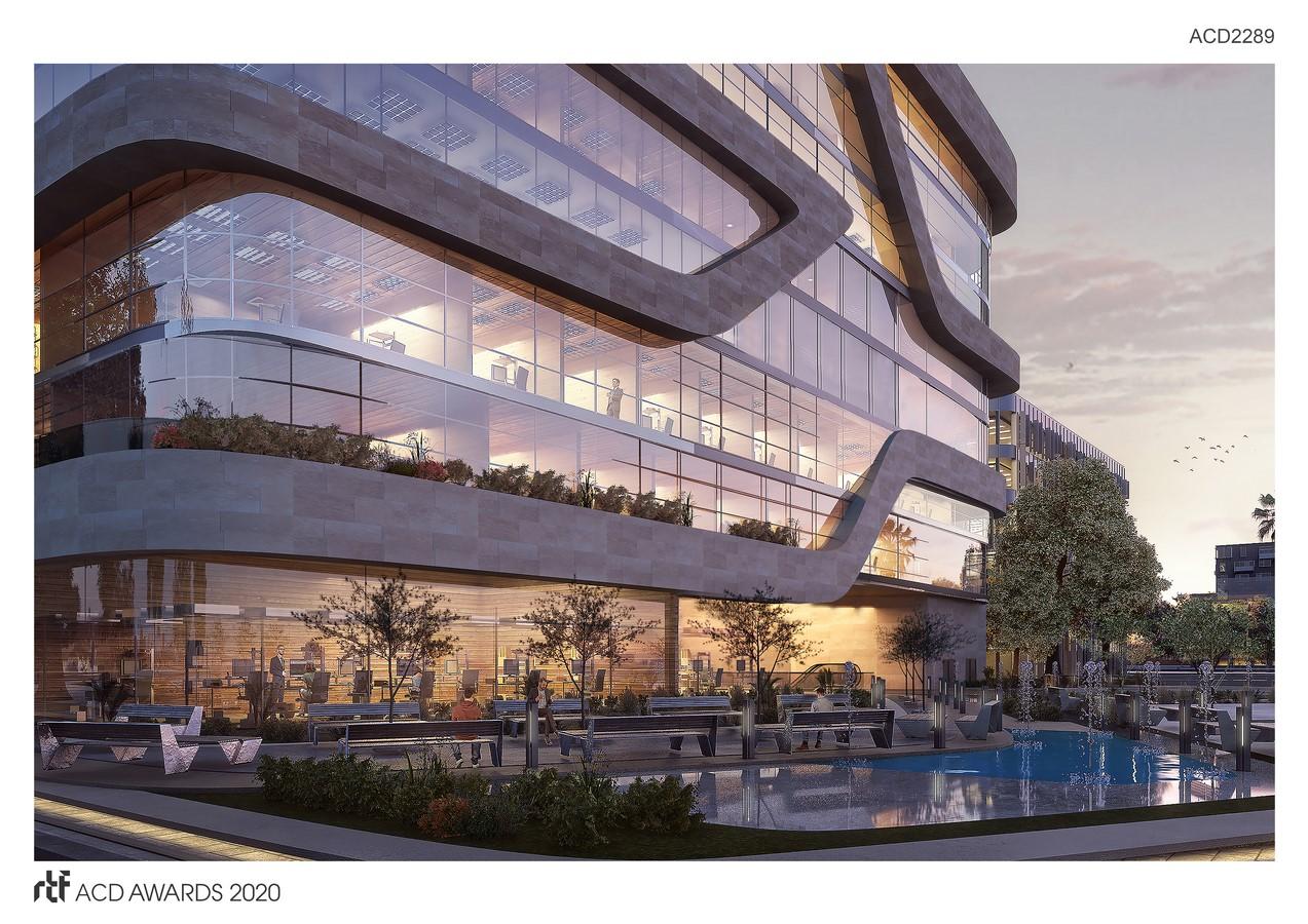 "Solas Office Building By Distance Studio Consultants ""DSC"" - Sheet4"