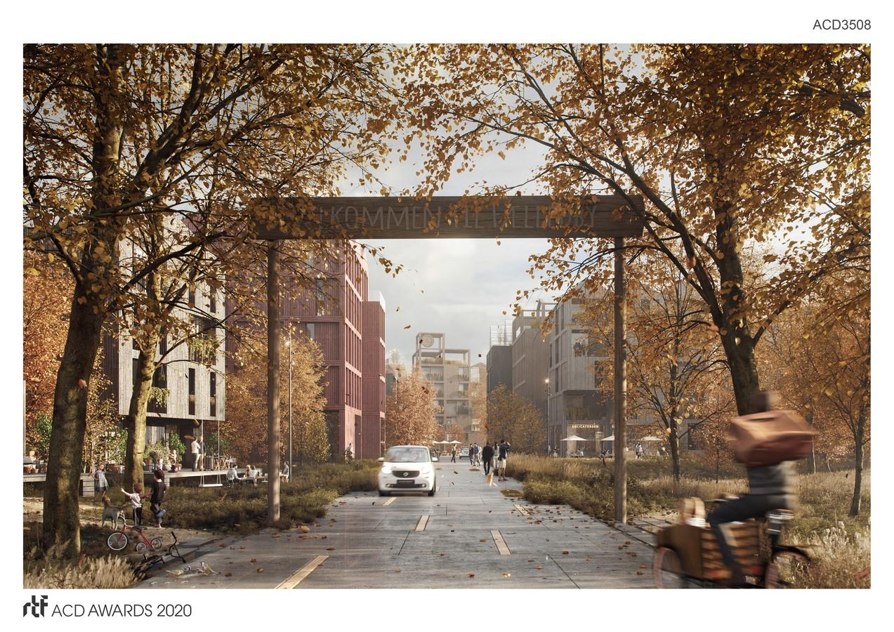 Vejlands Quarter By Henning Larsen - Sheet1