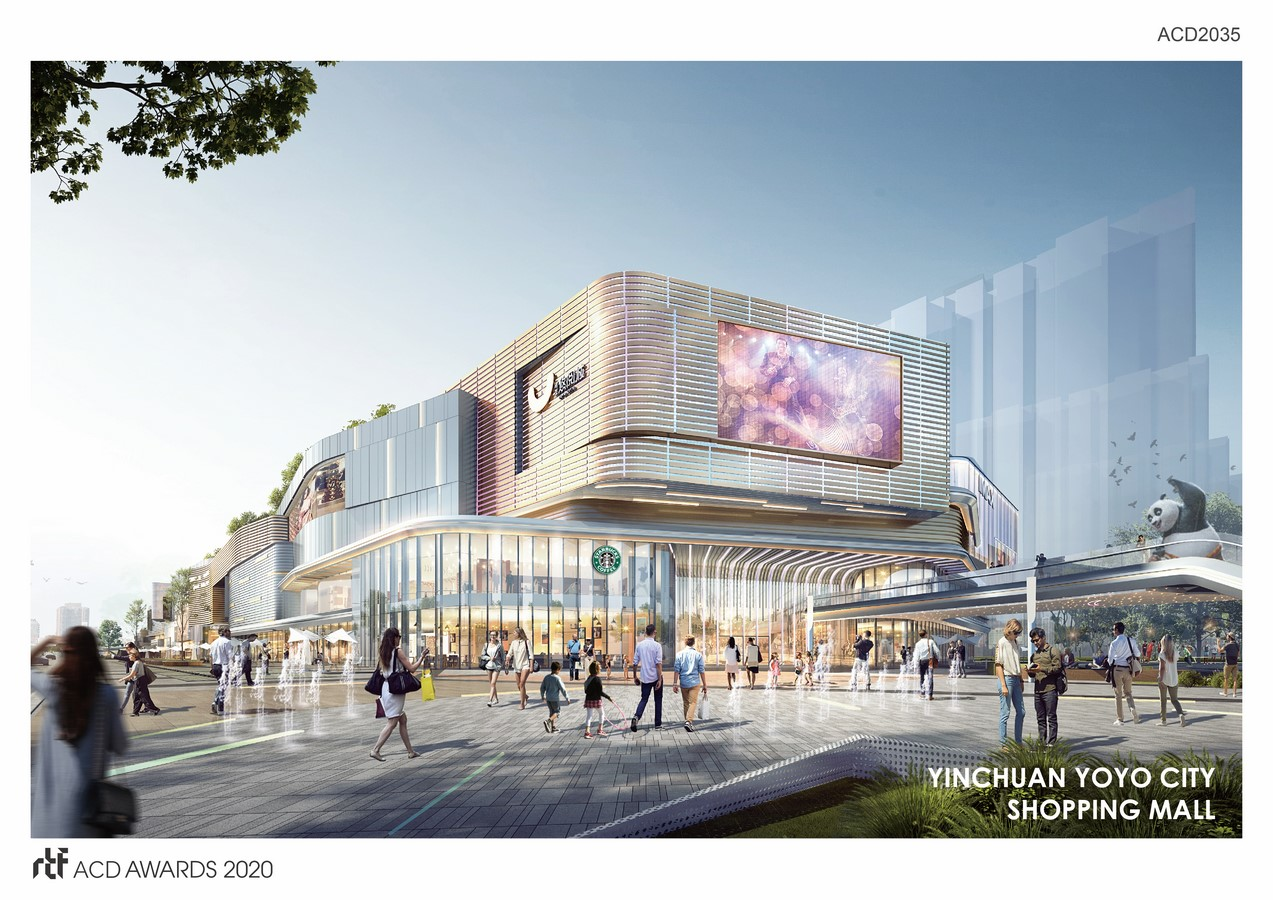 Yinchuan Jianfa Yoyo City By L&P Architects - Sheet1