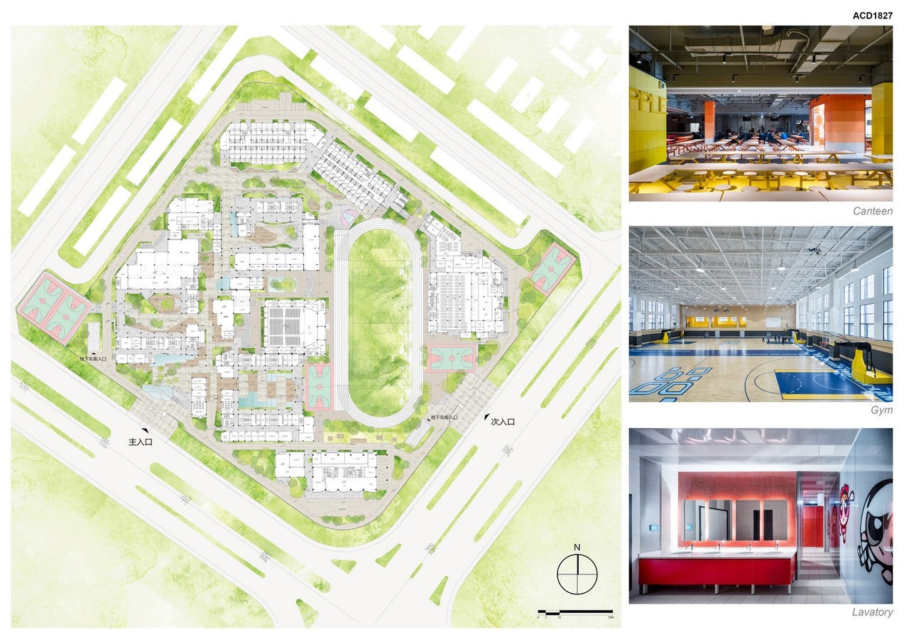 Yiwu Foreign Languages School By LYCS Architecture - Sheet4