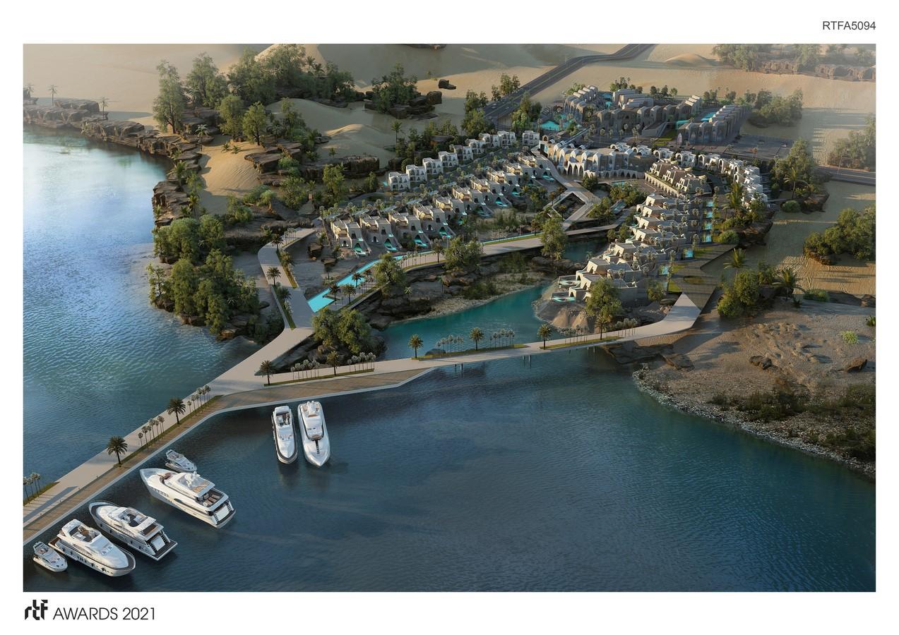 Abu Simbel Resort By Distance Studio Consultants - Sheet1