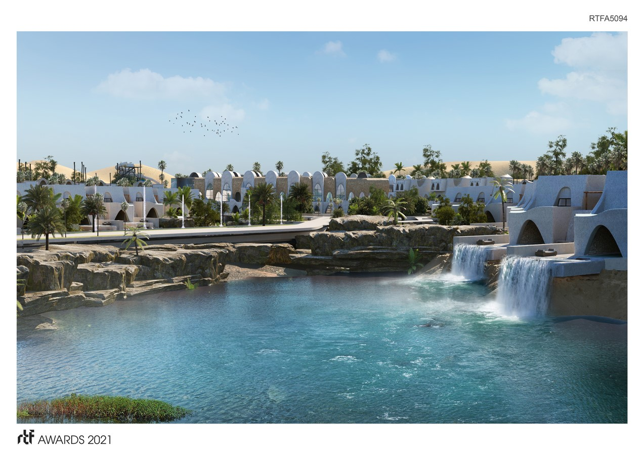 Abu Simbel Resort By Distance Studio Consultants - Sheet2
