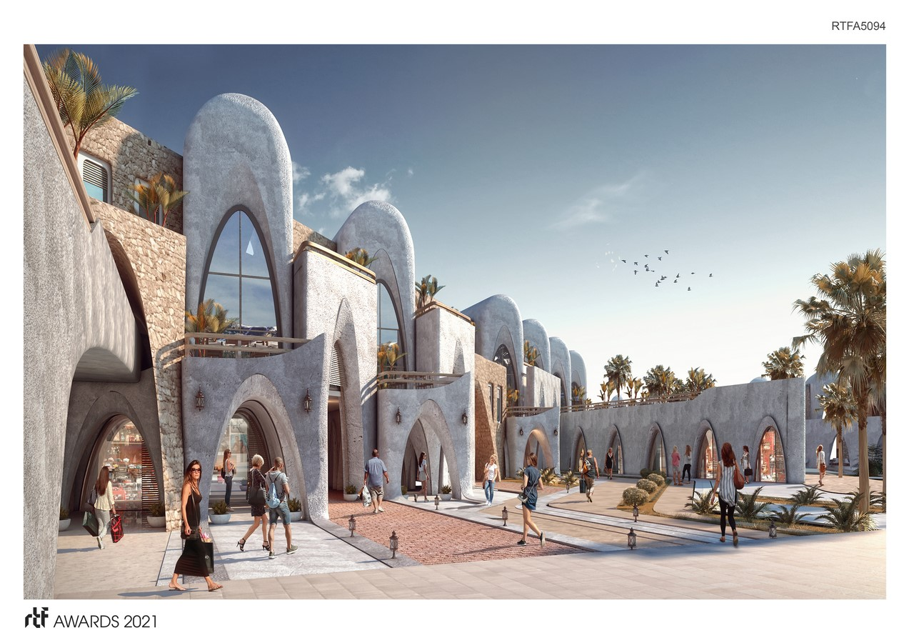 Abu Simbel Resort By Distance Studio Consultants - Sheet3