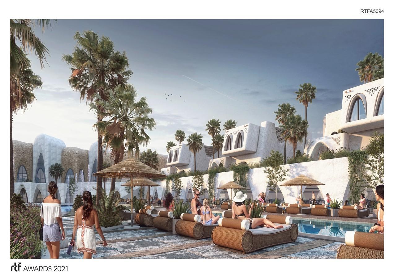 Abu Simbel Resort By Distance Studio Consultants - Sheet4