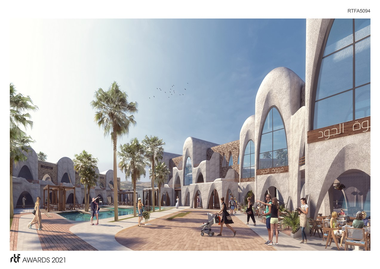 Abu Simbel Resort By Distance Studio Consultants - Sheet6