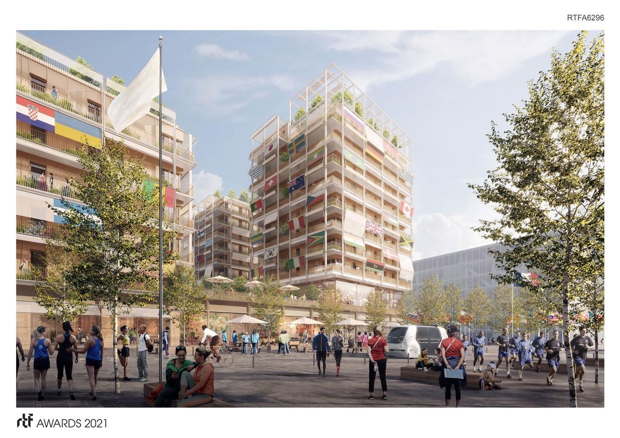 Athletes' Village E by CoBe Architecture et Paysage - Sheet1