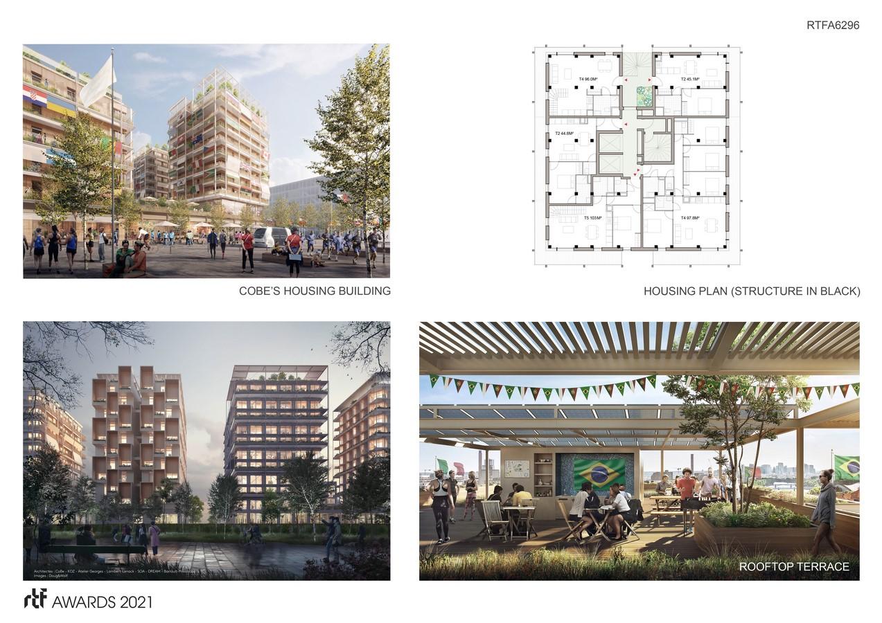 Athletes' Village E by CoBe Architecture et Paysage - Sheet4
