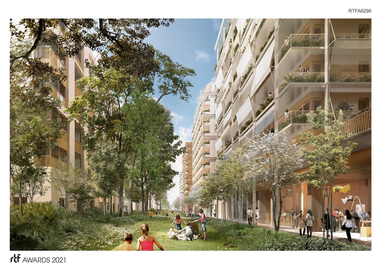 Athletes' Village E by CoBe Architecture et Paysage - Sheet5