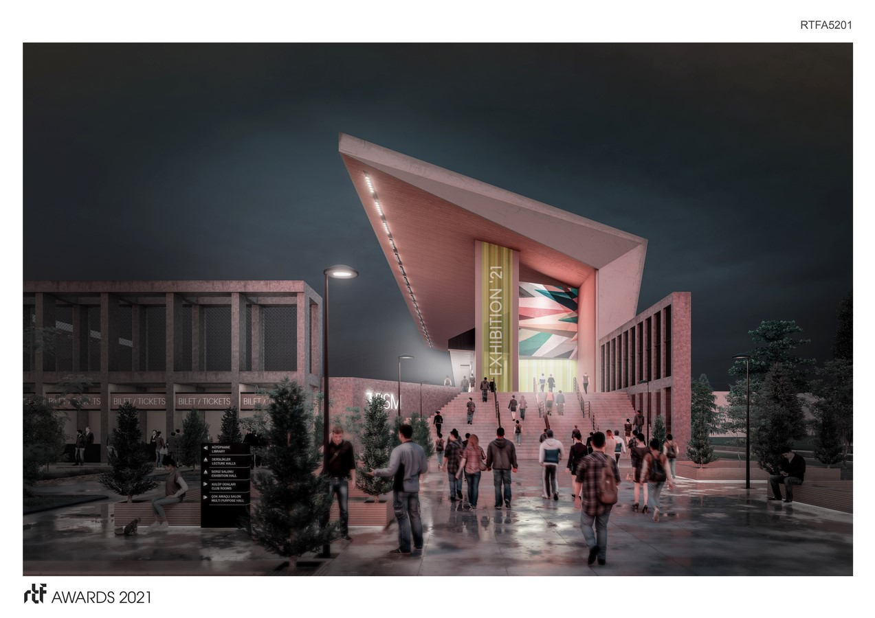 Baglum Culture and Sports Complex By Motto Architecture - Sheet1