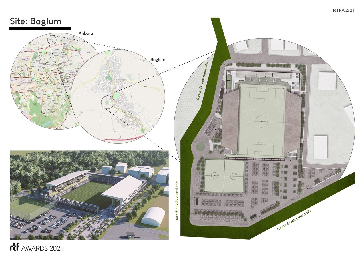 Baglum Culture and Sports Complex By Motto Architecture - Sheet2