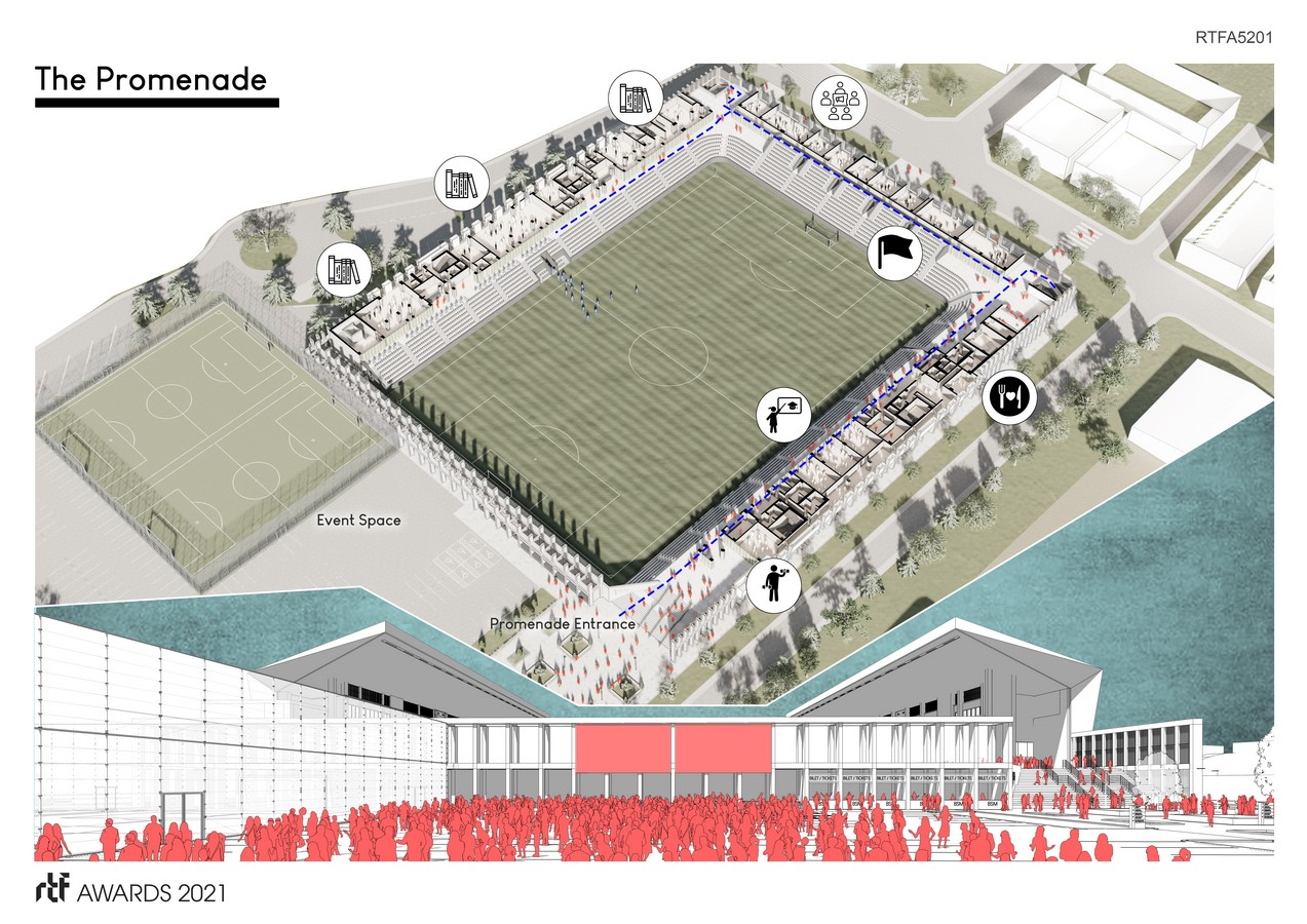 Baglum Culture and Sports Complex By Motto Architecture - Sheet4